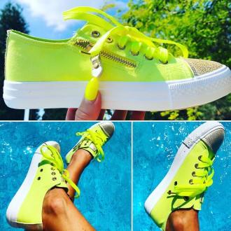 Dámská obuv - Dámské sneakersky NEON