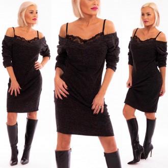 Dámské oblečení - Dámské šaty BEAUTY s krajkou
