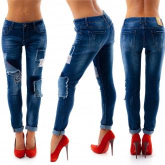 Dámské oblečení - Stylové dámské džíny AUCTION