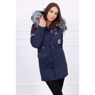 Dámské oblečení - Stylová dámská zimní bunda - parka