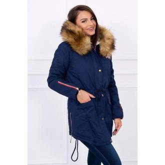 Dámské oblečení - Stylová dámská zimní bunda - parka RUGGED