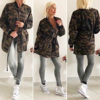Dámské oblečení - Stylová dámská džínová bunda ARMY