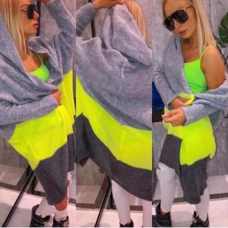 Dámské oblečení - Dámský pletený cardigan MISS
