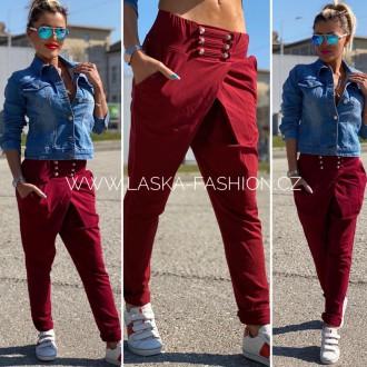 Pánské oblečení - Dámské nasrávací kalhoty BOTTOMS