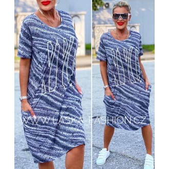 Dámské oblečení - Dámské šaty šatovka NYC