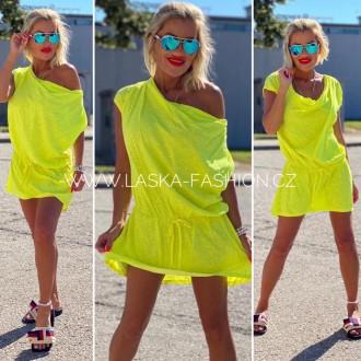Dámské oblečení - Dámské neon šaty