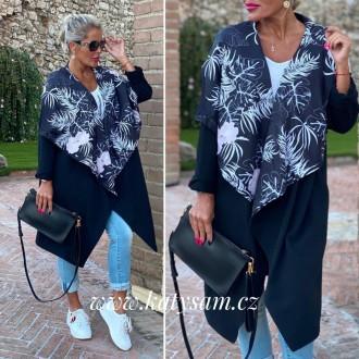 Dámské oblečení - Mikina - Cardigan - kabátek Blue