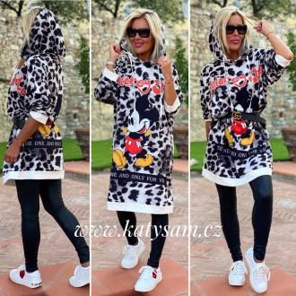 Dámské oblečení - Mikina leopard