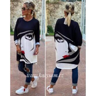 Dámské oblečení - Dámská Tunika - svetrik Woman