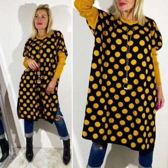 Dámské oblečení - Dámský svetr PUNTÍK