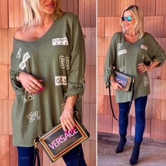 Dámské oblečení - Dámská tunika ARMY GIRL