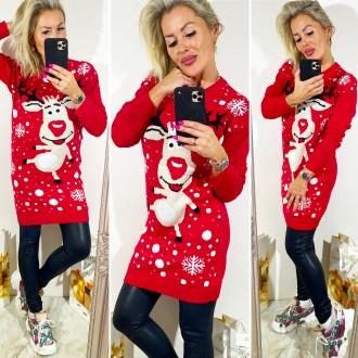 Dámské oblečení - Dámský svetřík CHRISTMAS
