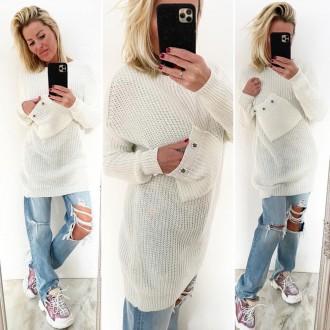 Dámské oblečení - Dámský svetr POCKET