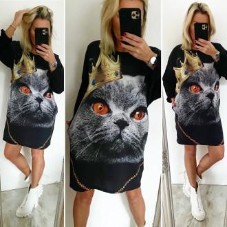 Dámské oblečení - Dámská Tunika CAT QUEEN