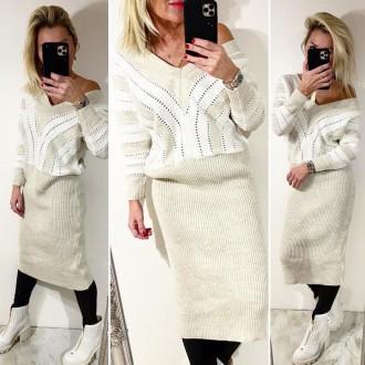 Dámské oblečení - Dámský svetr Long