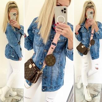 Dámské oblečení - Dámský kabátek - džínová bunda