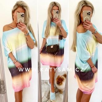 Dámské oblečení - Dámský svetr RAINBOW