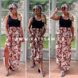 Dámské oblečení - Dámské dlouhé šaty LONG