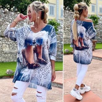 Dámské oblečení - Dámská tunika Shoes