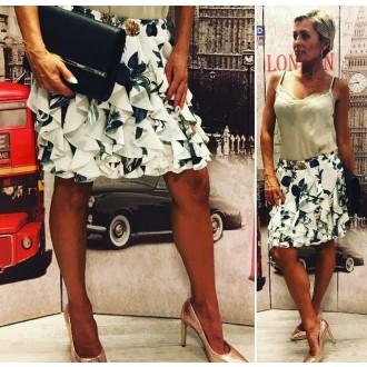Dámské oblečení - Trendy dámská sukně TUTU white